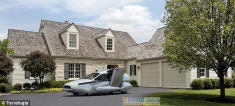 تصویر1-اخبار علم فناوری آموزش - ماشین خودرو پرنده تی اف ایکس TF-X