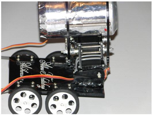 تصویر1-اخبار علم فناوری آموزش الکترونیک رباتیک خودرو در علمها-ربات امدادگر
