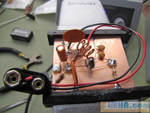 تصویر 15-پروژه برق الکترونیک در علمها: اتصال منبع تغذیه فرستندهافام،FM transmitter