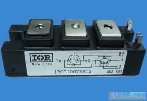 تصویر5-برق الکترونیک تکنولوژی در علمها:نمونه واقعی  IGBT آی جی بی تی ترانزیستور دو قطبی با گیت عایق شده