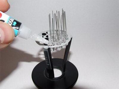 تصویر10- علم فناوری آموزش در علمها-روش ساخت لامپ LED ال ای دی دستساز