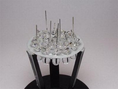 تصویر12- علم فناوری آموزش در علمها-روش ساخت لامپ LED ال ای دی دستساز