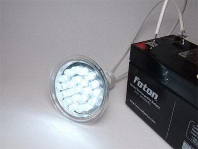 تصویر23- علم فناوری آموزش در علمها-روش ساخت لامپ LED ال ای دی دستساز